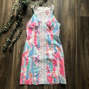 Lilly Pulitzer Lynn Shift Dress Multi Out to Sea